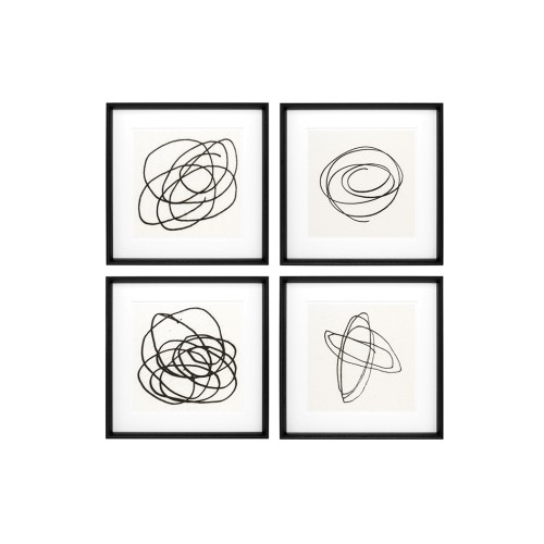 Set of 4 Black & White Collection II Prints