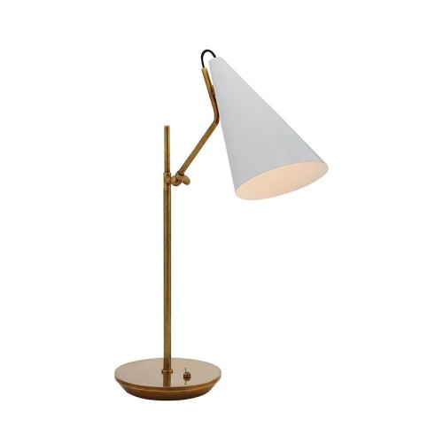 Clemente Desk Lamp - White Shade