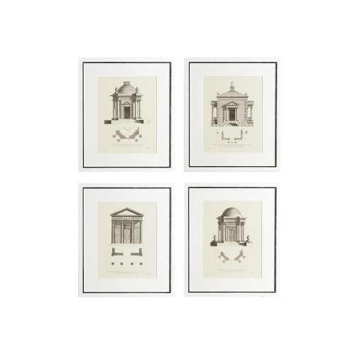Set of 4 Architecture Prints