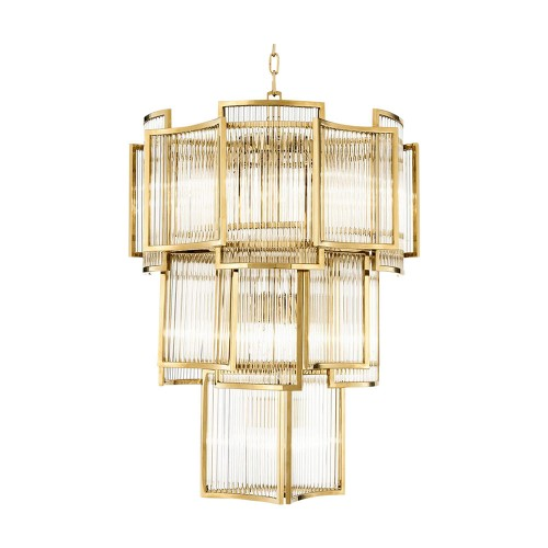 Gold Jet Set Chandelier