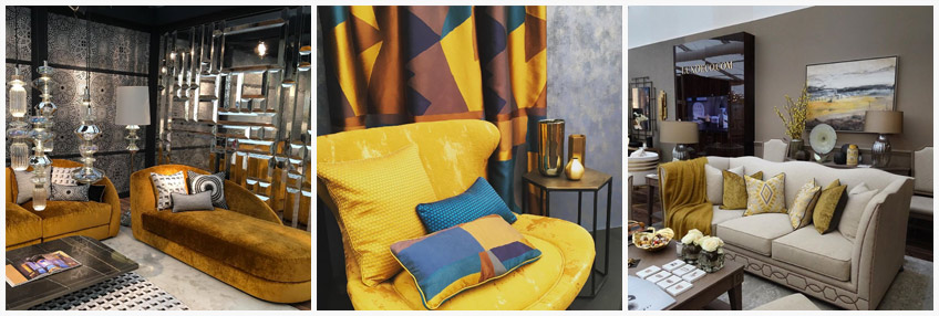 Decorex Trends from 2016 | Yellow | Interior Design Inspiration | LuxDeco.com Style Guide
