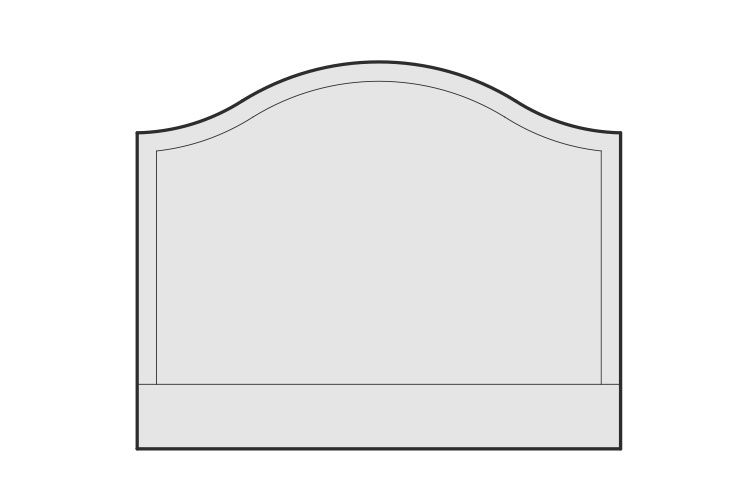 Luxury Bed Buying Guide – Curved Headboard – LuxDeco.com
