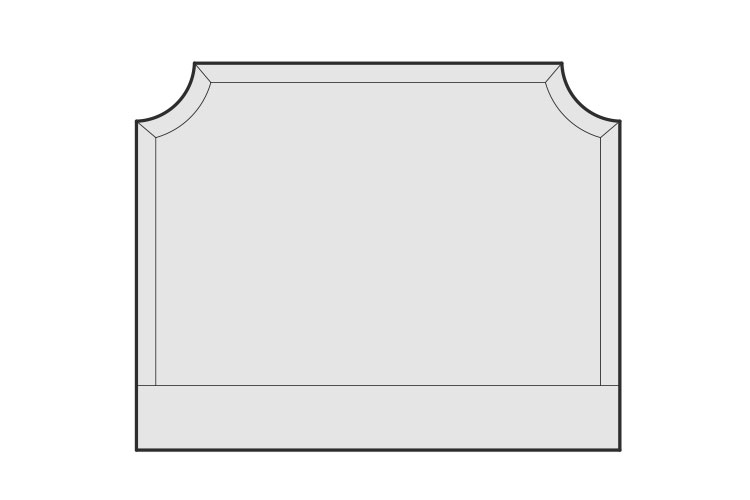 Luxury Bed Buying Guide – Cut Out Headboard – LuxDeco.com
