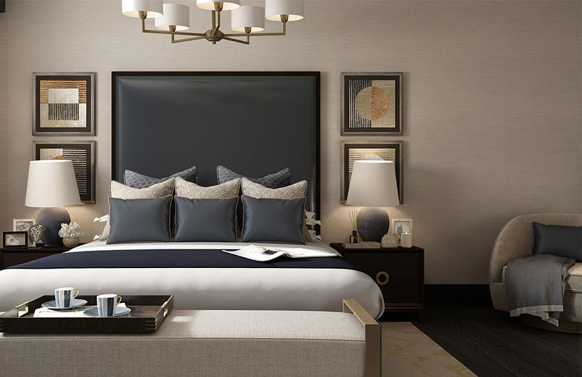 Luxury Bed Buying Guide – The Townhouse Collection – Beautiful Bedroom Ideas - LuxDeco.com Style Guide
