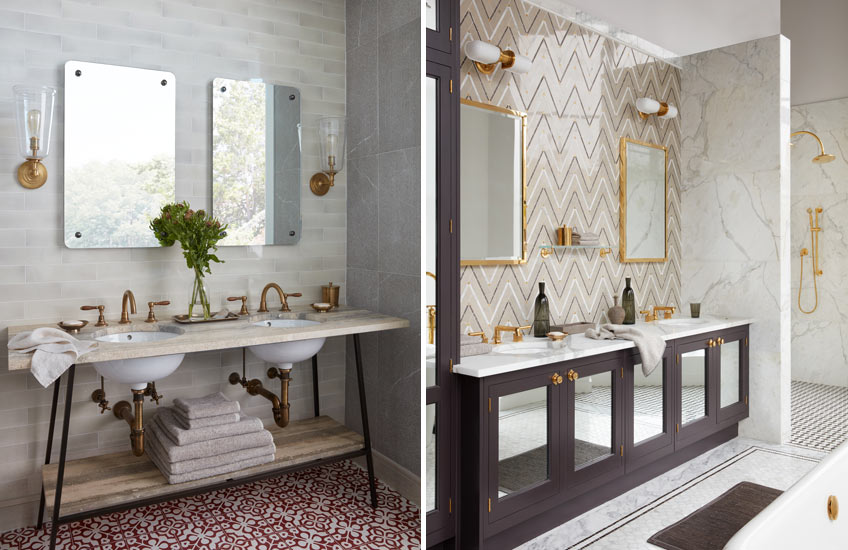 Expert Tips on Perfect Bathroom Design – Waterworks Sinks – LuxDeco.com Style Guide