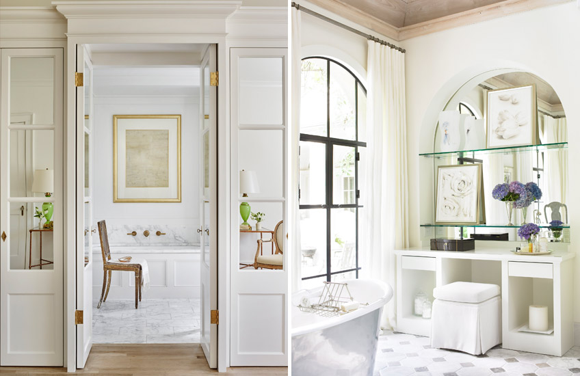 Expert Tips on Perfect Bathroom Design - Waterworks projects- LuxDeco.com Style Guide