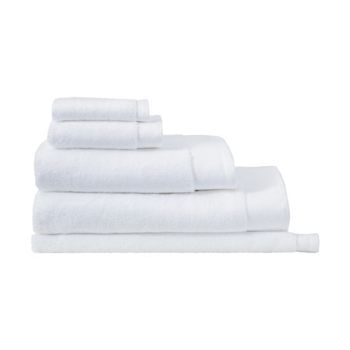 Retreat Towels - White