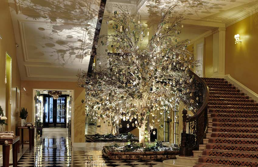 Claridge's Christmas Tree 2012 – LuxDeco.com Style Guide
