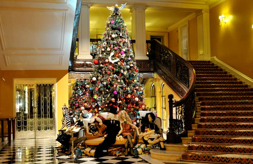 Claridge's Christmas Tree 2011 – LuxDeco.com Style Guide