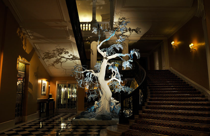 Claridge's Christmas Tree 2009 – LuxDeco.com Style Guide