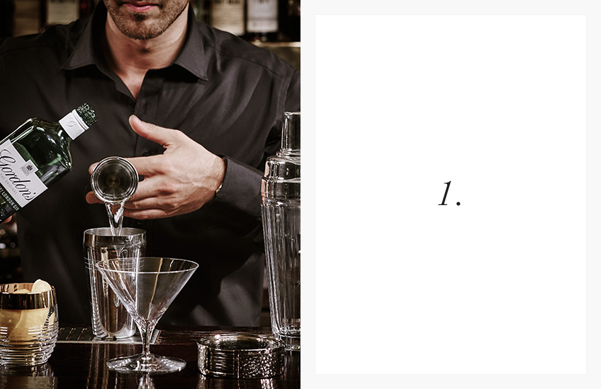 How To Serve the Perfect Cocktail | Step by Step Guide | Step 1 | LuxDeco.com