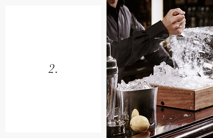 How To Serve the Perfect Cocktail | Step by Step Guide | Step 2 | LuxDeco.com
