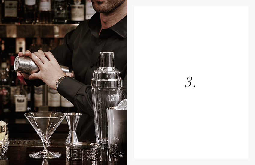 How To Serve the Perfect Cocktail | Step by Step Guide | Step 3 | LuxDeco.com