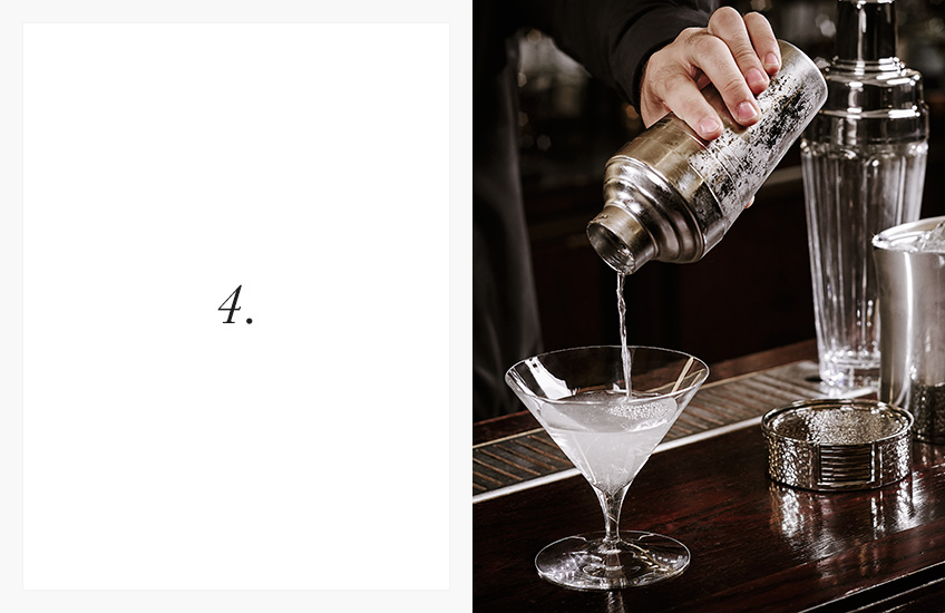 How To Serve the Perfect Cocktail | Step by Step Guide | Step 4 | LuxDeco.com