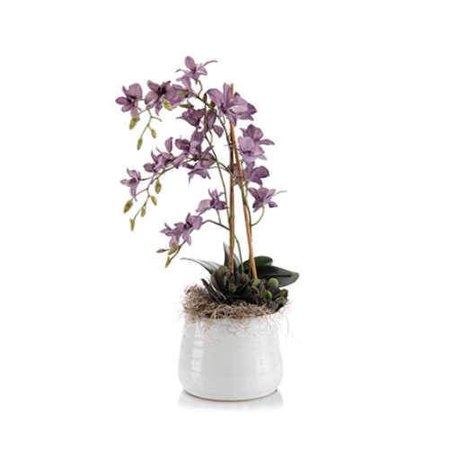 Lilac Faux Orchid