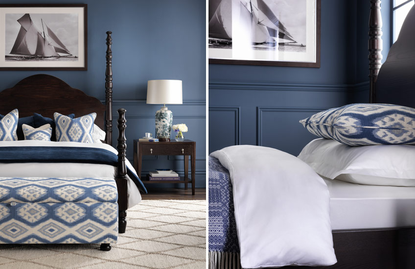 Blue Bedroom Ideas – Nautical - LuxDeco.com Style Guide