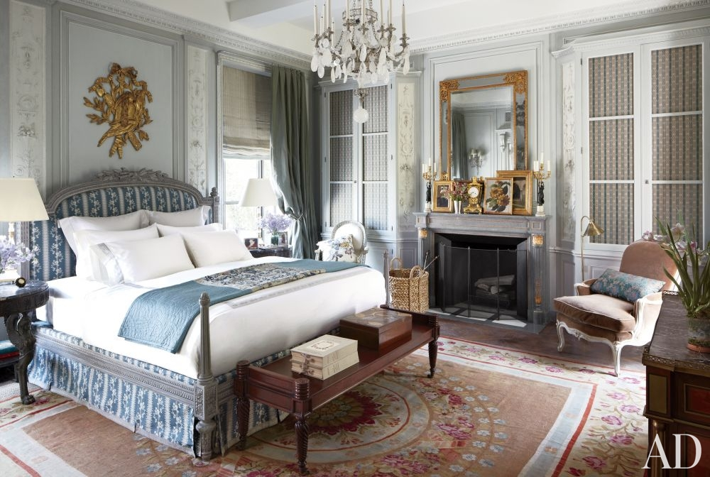 Blue Bedroom Ideas – Classical Tones - Michael S. Smith – LuxDeco.com Style Guide