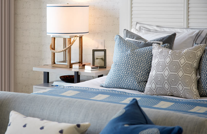 Blue Bedroom Ideas - Coastal Calm – Finchatton – LuxDeco.com Style Guide