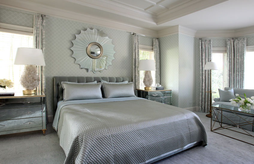 Blue Bedroom Ideas – Glamour Shot - Tobi Fairley Interiors – LuxDeco.com Style Guide