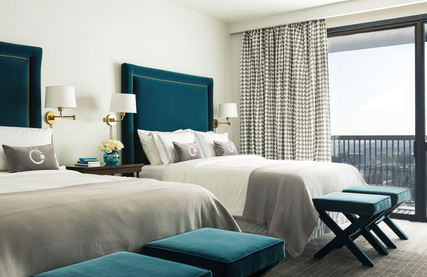 Blue Bedroom Ideas – Tobi Fairley – LuxDeco.com Style Guide