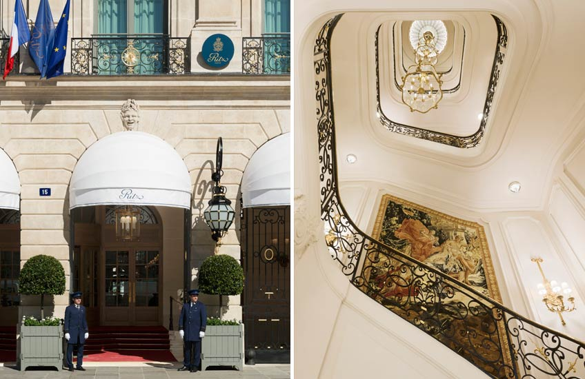 The Ritz Paris Renovation – Facade and Stairs – LuxDeco.com Style Guid