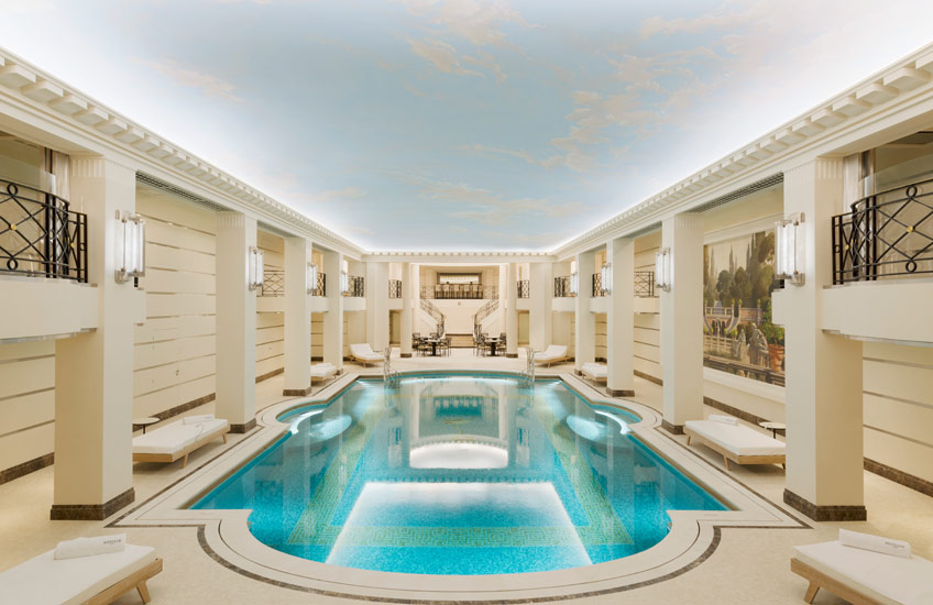 The Ritz Paris Renovation – Swimming Pool – LuxDeco.com Style Guide
