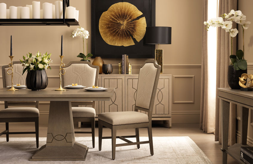 LuxDeco.com Eaton Square collection – Dining Room - LuxDeco Style Guide