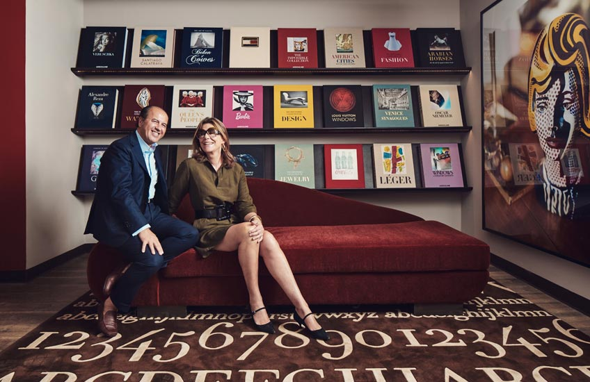 The Tastemakers –The Assoulines – Assouline books, Available atLuxDeco.com – Style Guide