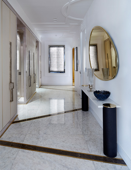 Chic Modern Hallway Ideas –Stephanie Coutas – LuxDeco.com Style Guide