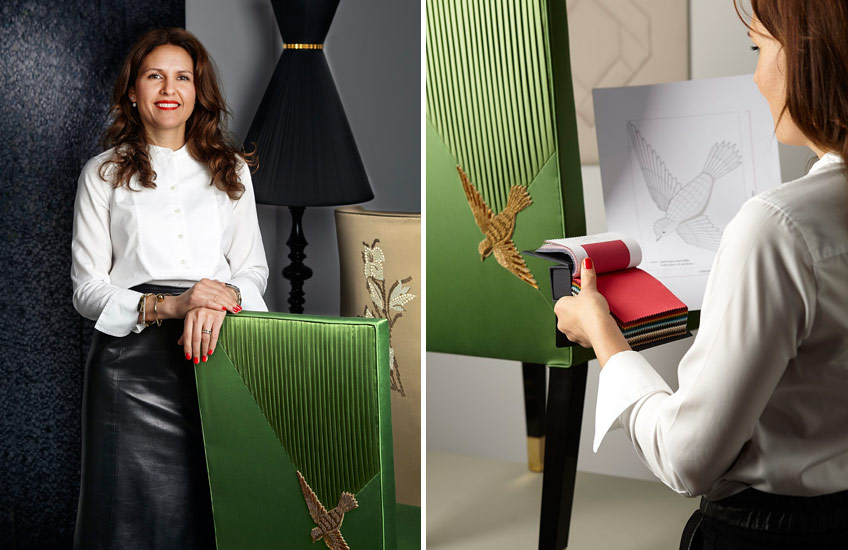 Aiveen Daly: Behind the Specialist Upholstery Brand - LuxDeco Style Guide