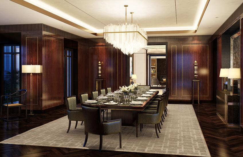 HBA Residential – Chris Godfrey interview – Luxury Dining Room – LuxDeco.com Style Guide