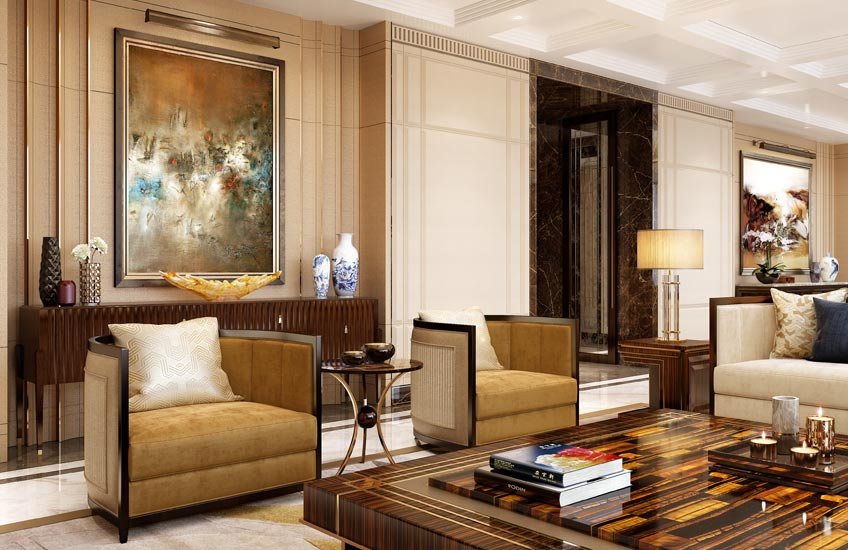 HBA Residential – Chris Godfrey interview – Luxury Living Room Style – LuxDeco.com Style Guide