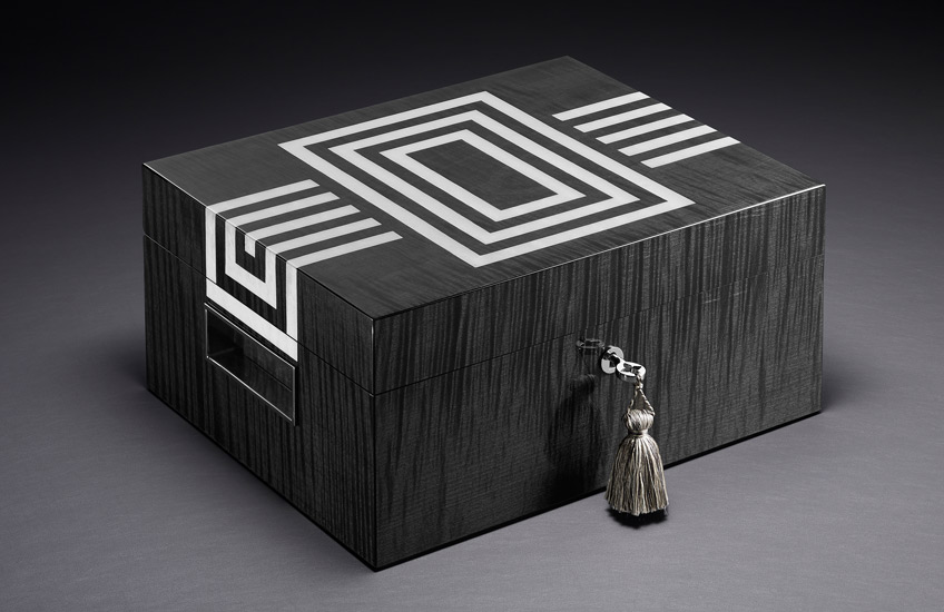 Lotusier Launches Revolutionary Luxury Tea Humidor – Art Deco humidor – Read about the launch in the LuxDeco.com Style Guide