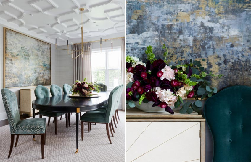Q and A with Jenn Feldman interior designer – Traditional Dining Room Ideas – LuxDeco.com Style Guide