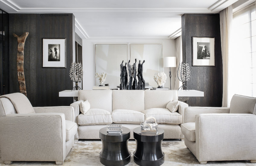 Timeless Design Fundamentals – Gilles & Boissier – Neutral Living Room – LuxDeco.com Style Guide