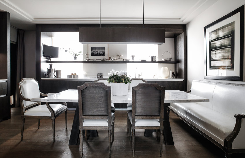 Timeless Design Fundamentals – Gilles & Boissier – Monochrome Kitchen – LuxDeco.com Style Guide