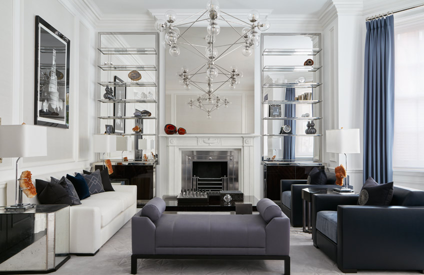 The Best of Luxury Interiors & Interior Designers in London – Katharine Pooley Mayfair Residence – LuxDeco.com Style Guide