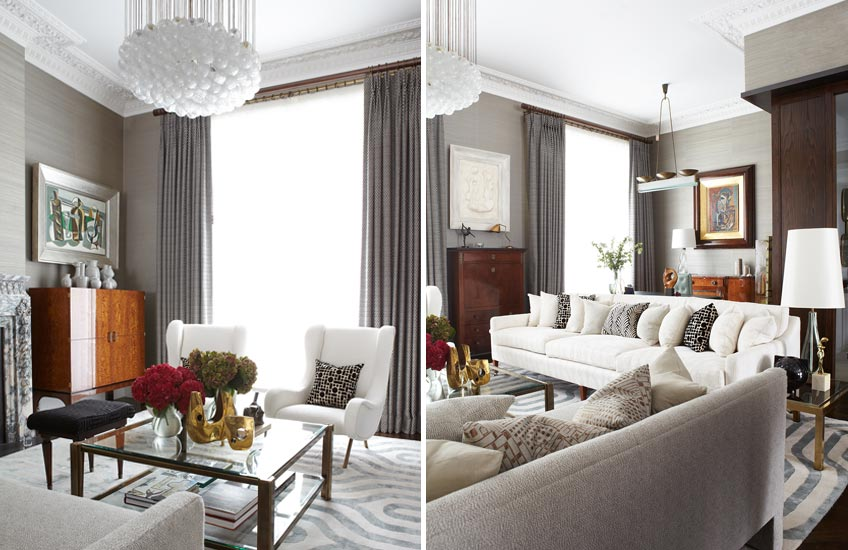 The Best of Luxury Interiors & Interior Designers in London – Peter Mikic Dawson Place –LuxDeco.com Style Guide