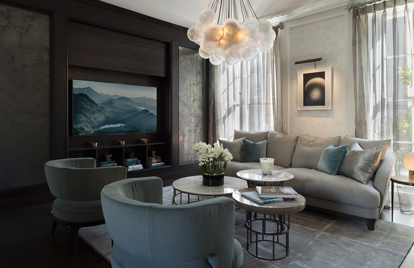The Best of Luxury Interiors & Interior Designers in London – Staffan Tollgard Knightsbridge Residence – LuxDeco.com Style Guide
