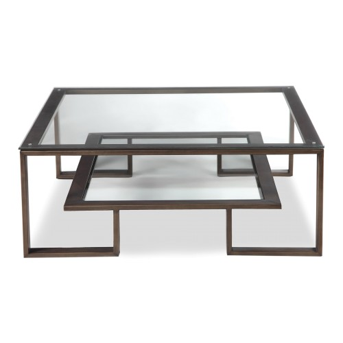 Mayfair Coffee Table - Antique Bronze