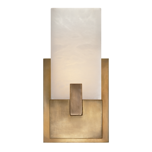 Covet Short Sconce - Burnished Brass