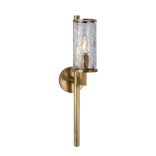 Liaison Single Sconce - Burnished Brass
