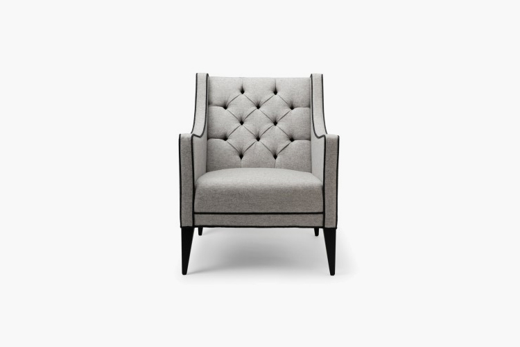 How To Create The Ultimate Bachelor Pad – Stuart Scott Sartor Armchair – LuxDeco.com Style Guide