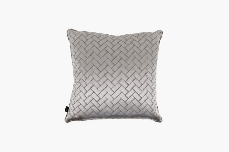 How To Create The Ultimate Bachelor Pad – Zinc Fontaine Cushion – LuxDeco.com Style Guide