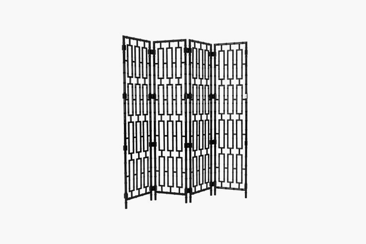 How To Create The Ultimate Bachelor Pad – Eichholtz Bamboo Folding Screen – LuxDeco.com Style Guide