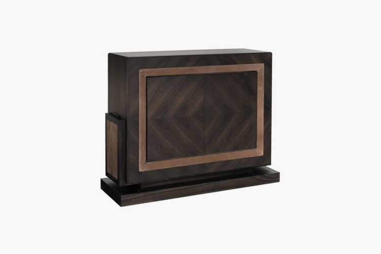 How To Create The Ultimate Bachelor Pad – Smania Efeso Bar Cabinet  – LuxDeco.com Style Guide