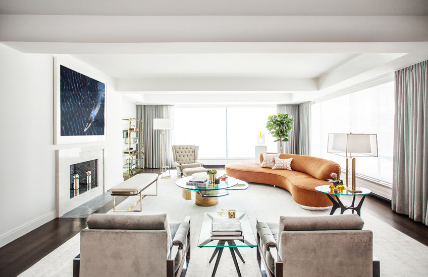 Mid-century modern style –B.A. Torrey Interiors –LuxDeco.com Style Guide
