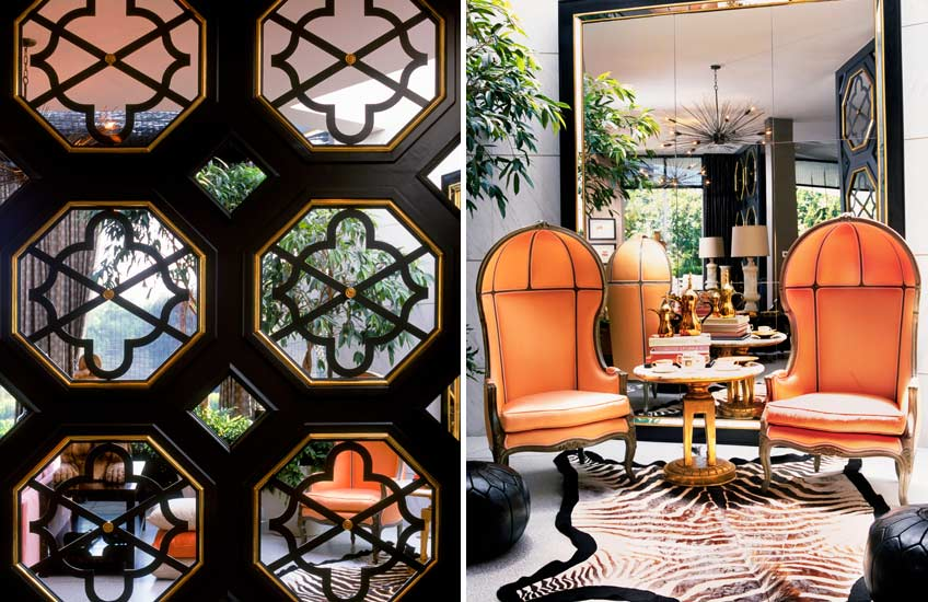Interior Design Styles 101 – Hollywood Regency Interiors – Kelly Wearstler Interiors – Read more in the LuxDeco Style Guide