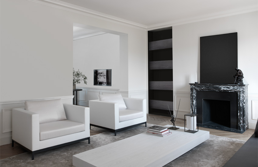 Interior Design Styles 101 U2013 Minimalist Interiors U2013 Minimalist Living Room  U2013 Guillaume Alan Living Room