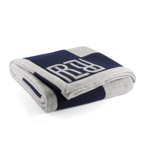 Montclair RL Signature Blanket Navy